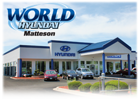 World Hyundai Matteson Dealership