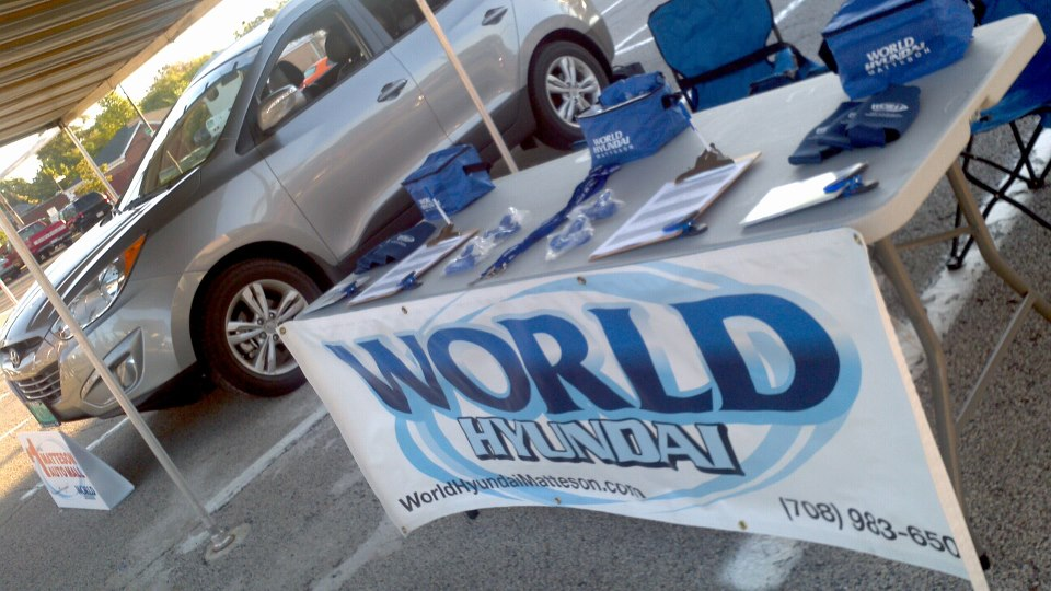 World Hyundai at Farmer's Market