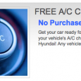 Get your car feeling nice and cool this summer and bring it to World Hyundai for an air condition check! We'll test and check the power of your vehicle's A/C […]