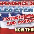 World Hyundai in the Matteson Auto Mall is your place for Chicago 4th of July sales including extended June Hyundai rebates now expiring on July 7th! Take advantage of plenty […]